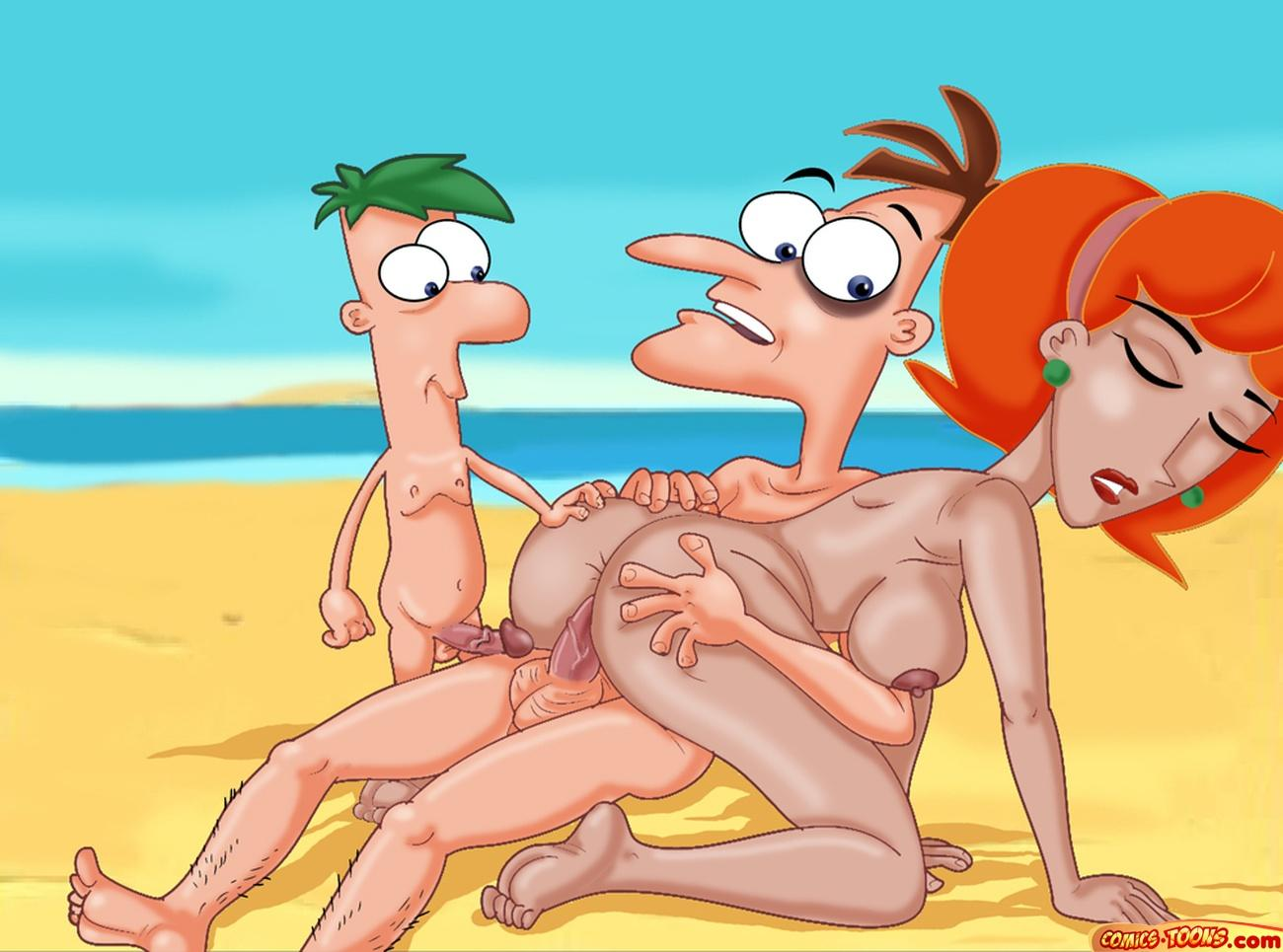 phineas and nude ferb linda Five nights at freddy puppet