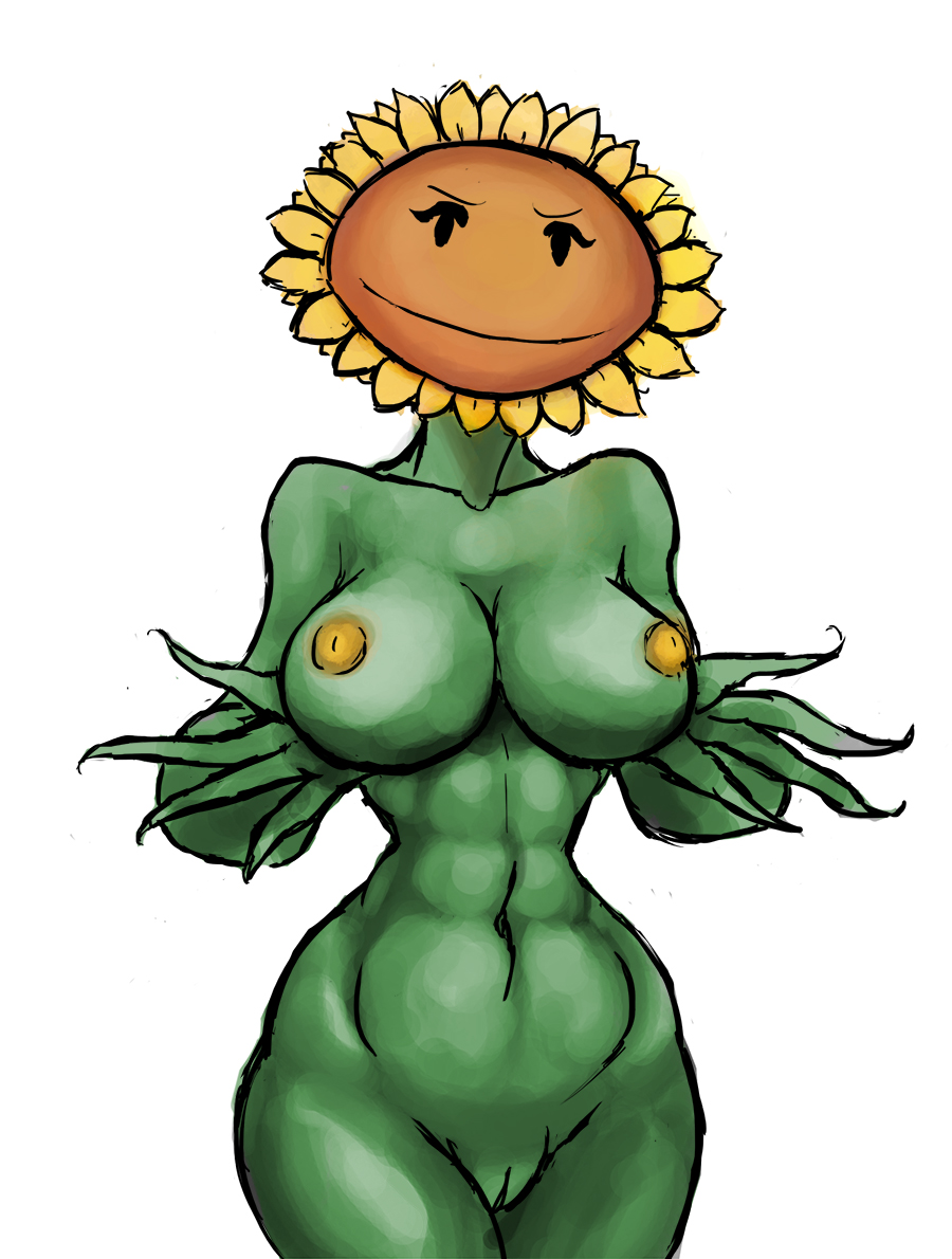 vs 2 moonflower plants zombies Chara and frisk having sex