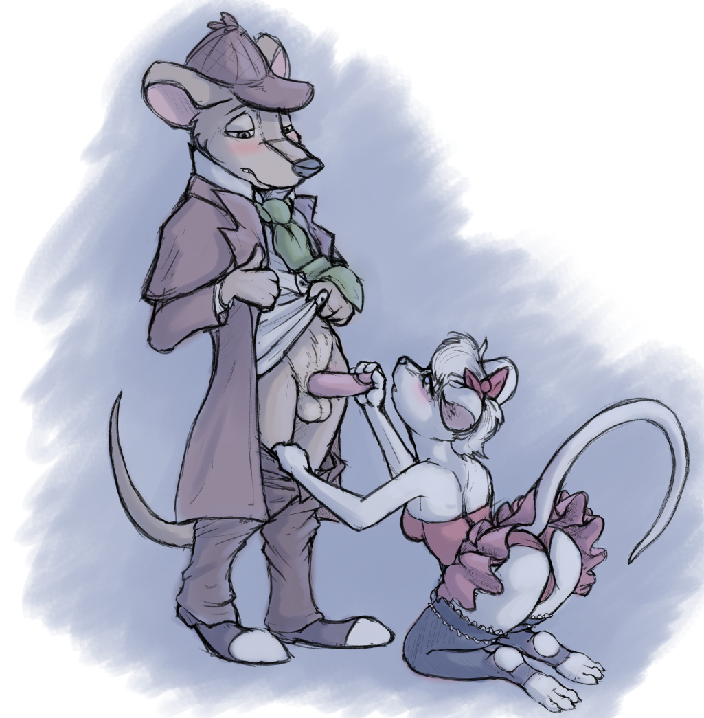 mouse detective kitty miss great Breaking the quiet horse scene