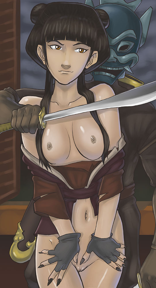 the airbender girls last naked avatar Samia of the shifting sands