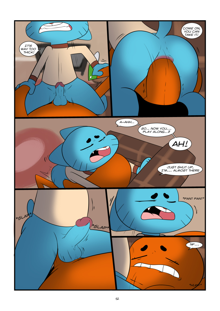 amazing porn of gumball the world gay Minecraft vs five nights at freddy's