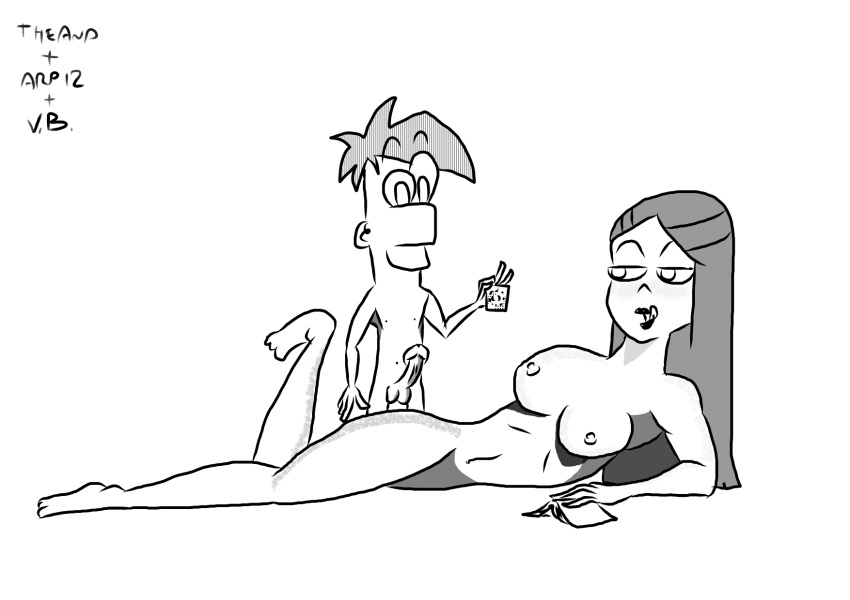 and nude phineas mom ferb Chip and dale gadget