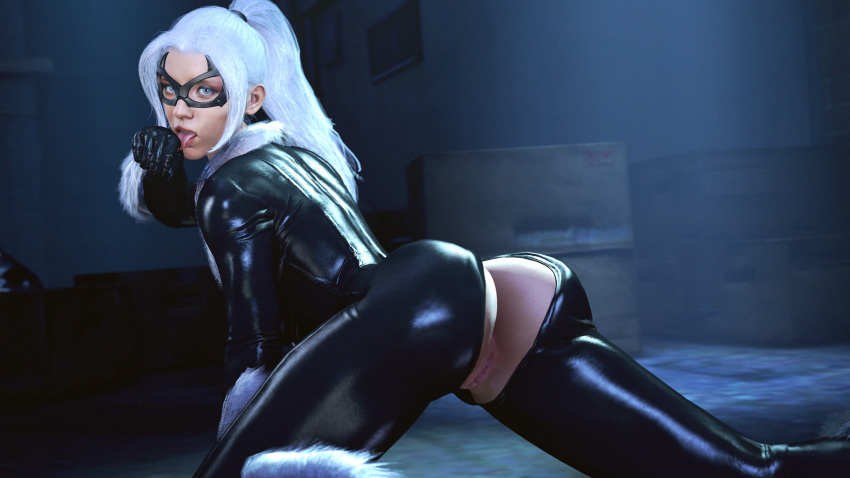 cat black spider-man ps4 Expelled from paradise