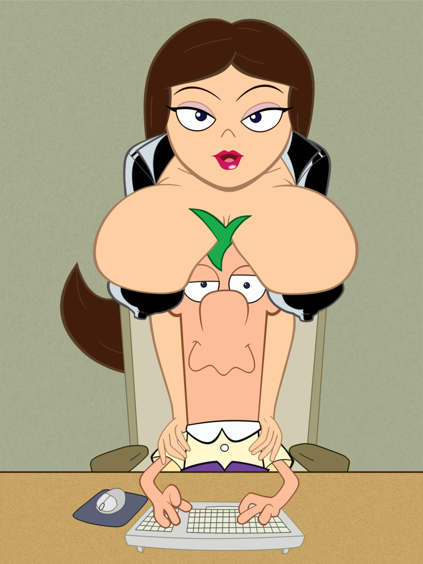 naked and phineas ferb vanessa Yoda cock and ball torture
