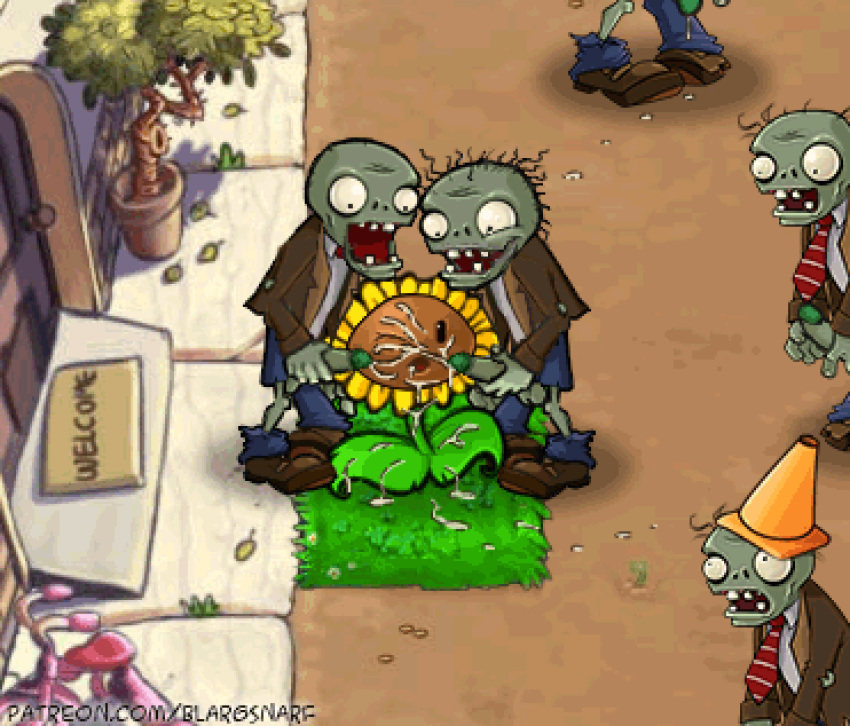 2 sweet potato vs zombies plants Wooser's hand-to-mouth life