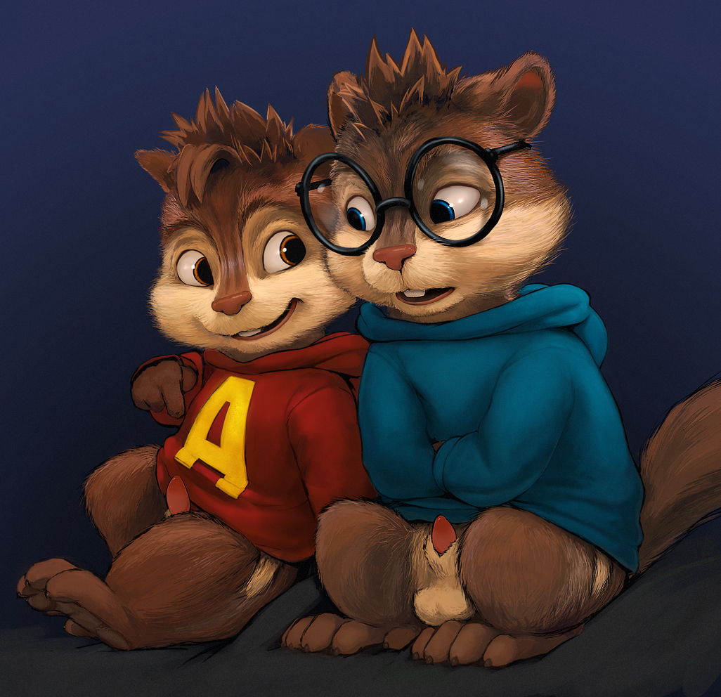 alvin and chipmunks eleanor the from Bessy back at the barnyard
