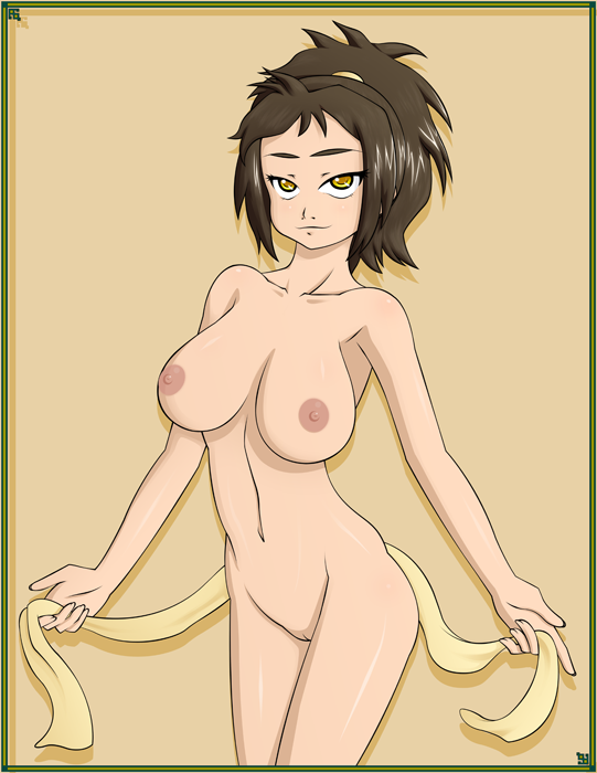 the avatar nude last airbender toph My gym patner is a monkey